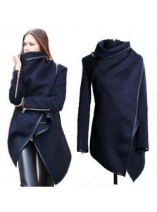 Sexy Women Loose Long Sleeve Fall Party Jacket Women's Overcoat