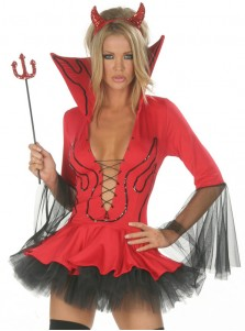 Sexy Devil Halloween Women's Costume