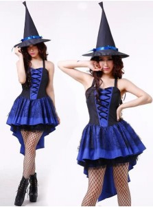 Sexy Mini Women's Halloween Witch Costumes