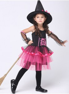 Little Girl's Witch Costumes for Halloween