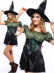 Mini Sexy Halloween Women's Witch Costumes