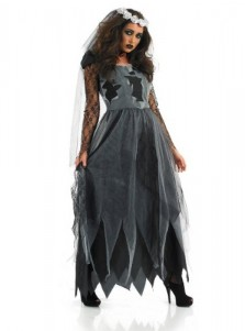 Halloween Horrible Gost Costumes Witch Costume