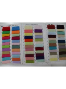 Simple-dress Chiffon Fabric Sample  F1