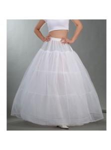 Wedding Bridal Long White Tulle Petticoat/Underskirt