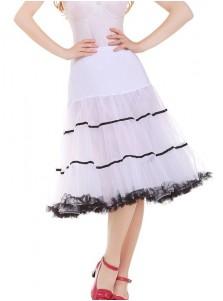 Women's Vintage 1950s Puffy Rockabilly Petticoats Tulle Slips