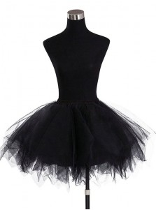 Women's Mini Tutu Ballet Bubble Tutu with Multi-layer Frilly Petticoat