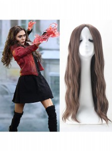 Captain America Civil War Scarlet Witch Cosplay Wig