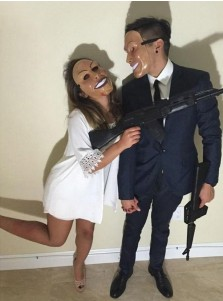 The Purge Horror Halloween Mask Cosplay Custome Props For Halloween Party