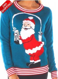 Kim Kardashian's Same Style Santa Christmas Sweater