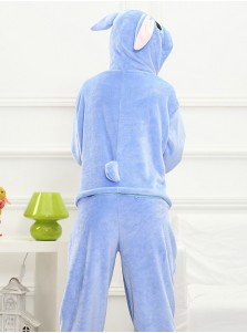 Adult Cosplay Costume Animal Flannel Stitch One-piece Pajamas