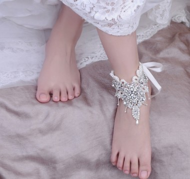 Rhinestone Foot Jewellery (Sold in a single piece)