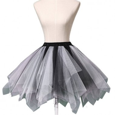 Women's Mini Multi-color Tulle Tutu Ballet Bubble peticoat