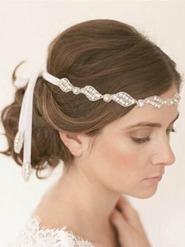 Ladies Pretty Crystal Headpieces
