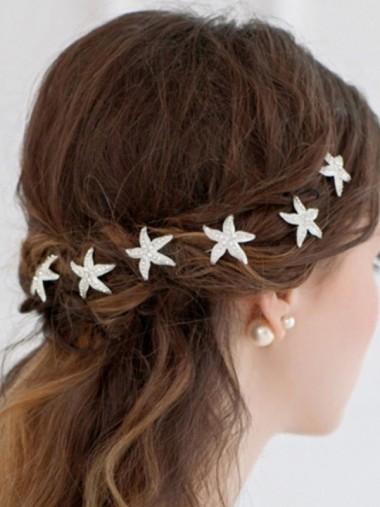 Ladies Shining Crystal Hairpins (Set of 2)