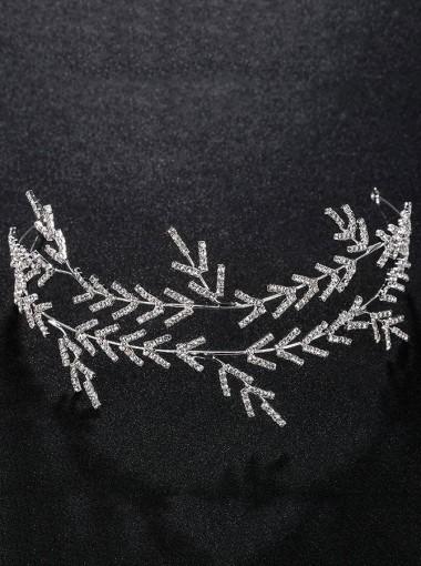 Bridal Wedding Accessory Unique Silver Headpieces
