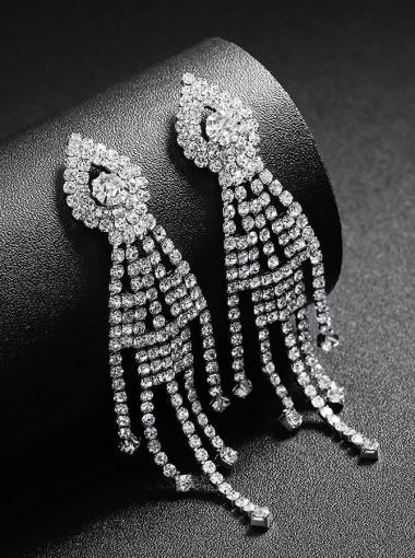 Nice Chain Earrings Crystal Drop Earring for Women