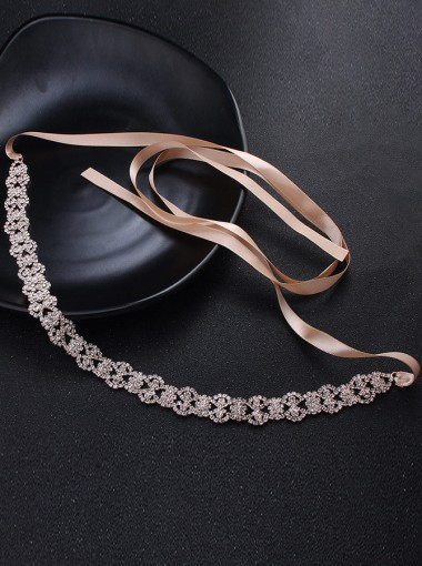 Stylish/Elegant Alloy Sash with Crystal