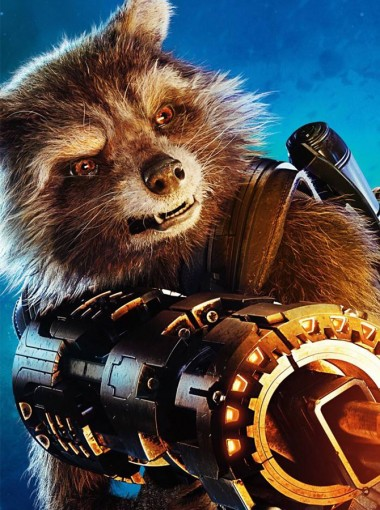 Guardians of the Galaxy Vol Rocket Raccoon Mask Cosplay Accessory Prop