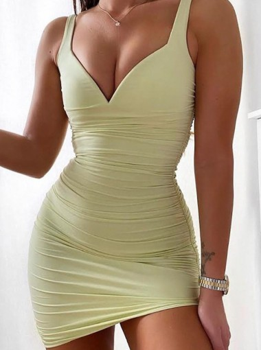 Straps Short Tight Party Dress