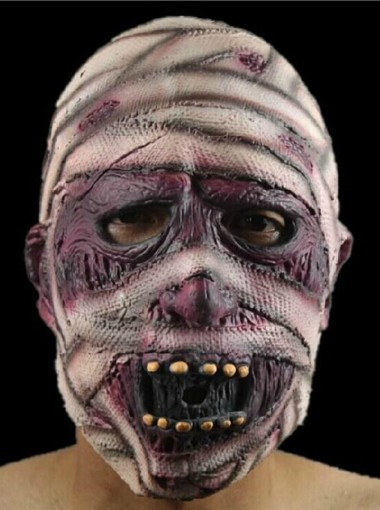 Terror Hurt Zombie Mask Halloween Party Prop