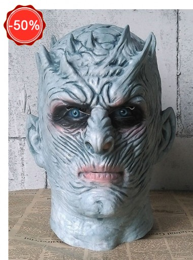 Men's Game of Thrones-Night's King White Walker Men's Full Head Mask