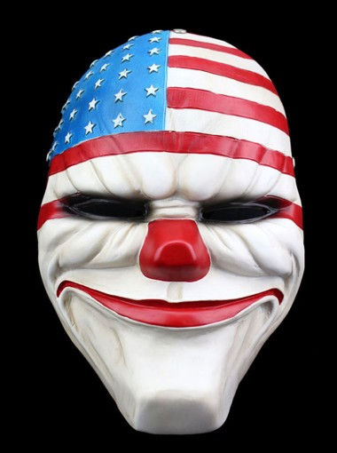 Payday2 Dallas Mask Halloween Cos Party Mask