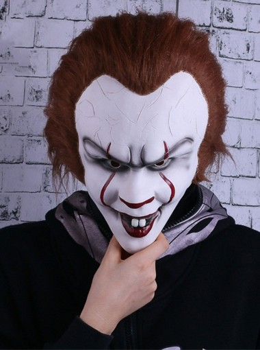 It Pennywise Cos Mask Halloween Party Latex Mask