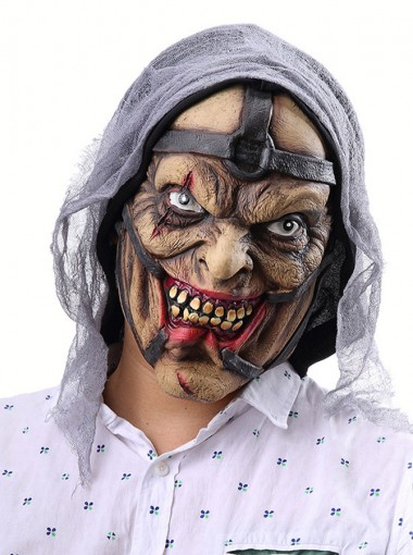 Scary Cool Halloween Masks Creepy Witch Masks Latex Halloween Mask