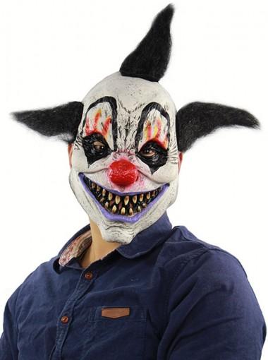 Funny Halloween Masks Creepy Smile Mask Clown Latex Halloween Mask