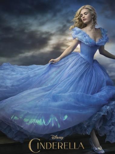 Cinderella Medium Long Scroll Brown Rayon Cosplay Wig