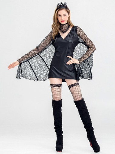 Sexy Roma Halloween Costumes for Women 3 Piece Party Costumes for Girls with Lace