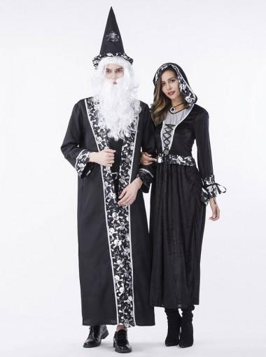 Halloween Couple Costume Royal Court Arabian Cosplay Costume Vampire Dress