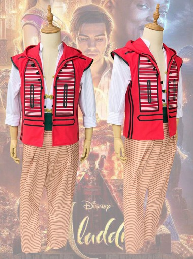Disney Movie Aladdin Cosplay Costume