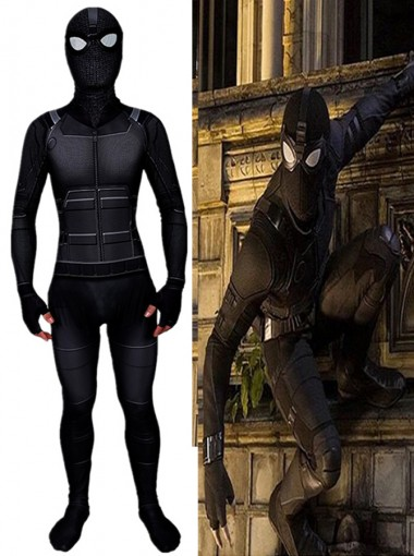 Marvel 2019 Spider-Man Far From Home Peter Parker Cosplay Costume
