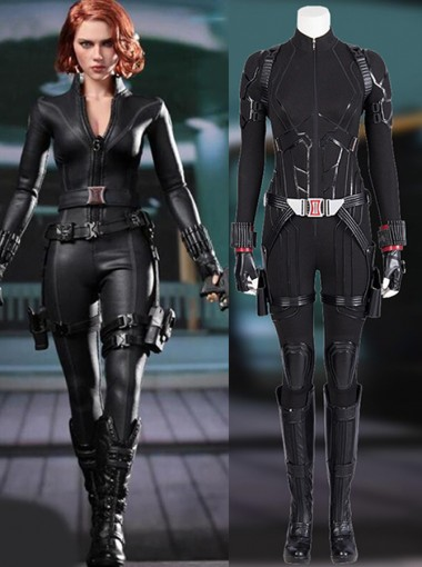 Endgame Avengers Black Widow Zentai Jumpsuit Battle Suit Cosplay Costume