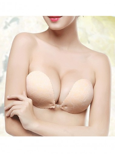 New Style Lace Women Silicone Backless Adhesive Bra