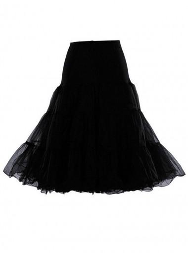 Sarahbridal Women A-Line Short Petticoat Crinoline