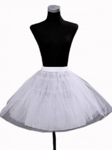Hot Sale Women Short Vintage Multicolored Petticoat Underskirt Slips
