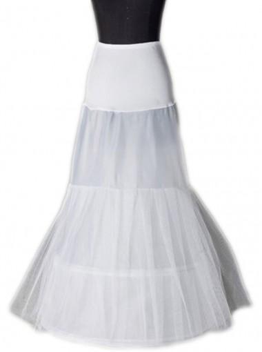 Hot Sale 2 Hoops Petticoat for Trumpet Mermaid Wedding Dress