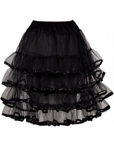 Cheap Four Layers Prom Dress Short Petticoats/Skirts