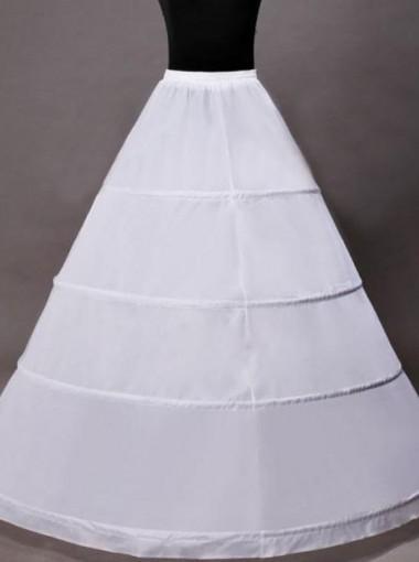White A-line Slip Wedding Dress Petticoat/Cirnoline