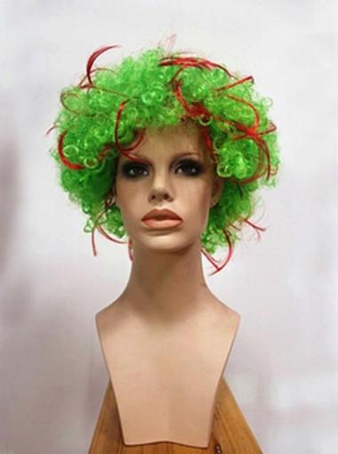 Halloween Crazy Cosplay Wigs Fleeciness Curl Party