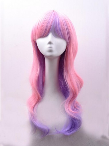 Harajuku New Party Cosplay Wig Anime Cute Fantasy Gothic Slope Length Wig