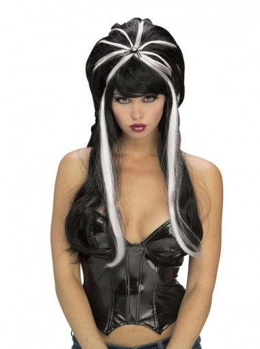Spider Witch Wig Adult Halloween
