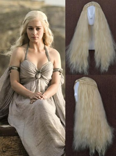 Rights Dragon Mother Cosplay Wigs Daenerys Game