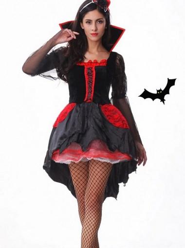 Womens Sexy Midnight Mistress Vampire Costume