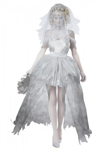 Ghost Bride Halloween Costumes For Women