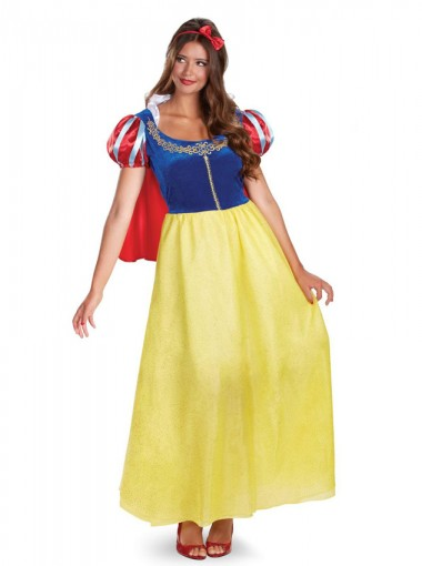 Snow White Deluxe Adult Plus Costume Halloween Custome For Women