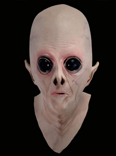 KingMas Alien UFO The Extra Terrestrial ET Full Mask
