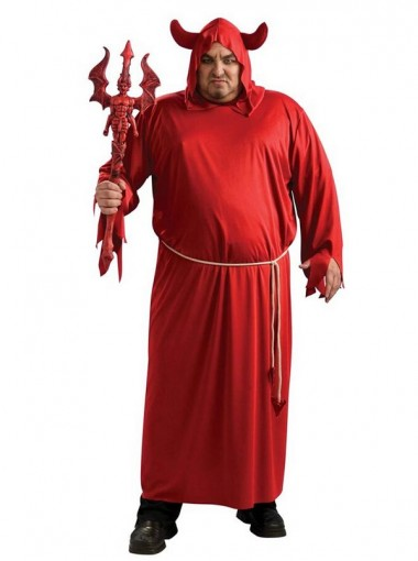 Plus Size Lucifer Costume Halloween